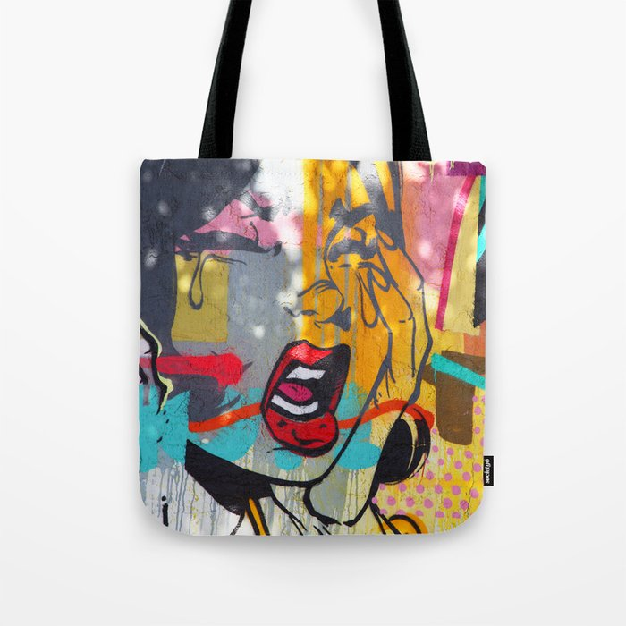 Pop Art Comic Graffiti Miami Beach Street Tote Bag
