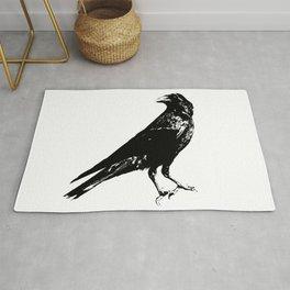 Lone Raven Rug