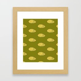 Lemon Framed Art Print