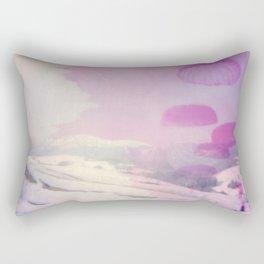 Aerial Daydreaming: parachutes Rectangular Pillow
