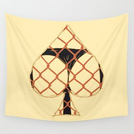 ACE OF SPADES Wall Tapestry