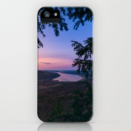 Sunset over Keuka iPhone Case