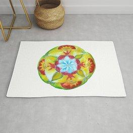 Peace Unity Mandala Rug