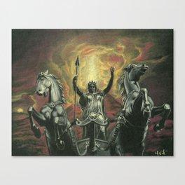 Boudica & Vesuvius Canvas Print