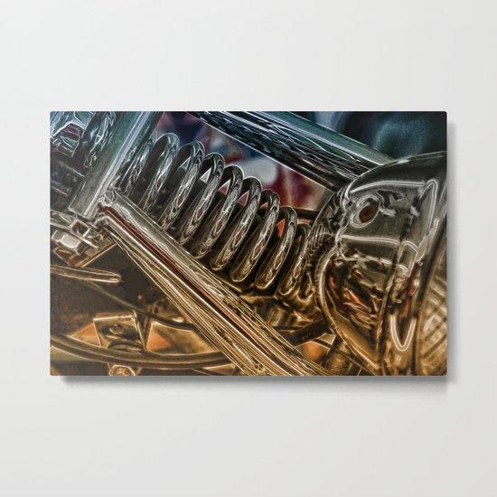 Sprung Metal Print
