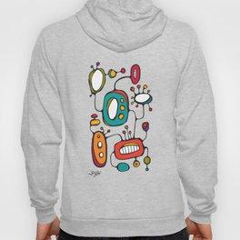 Scribbles 02 in Color Hoody