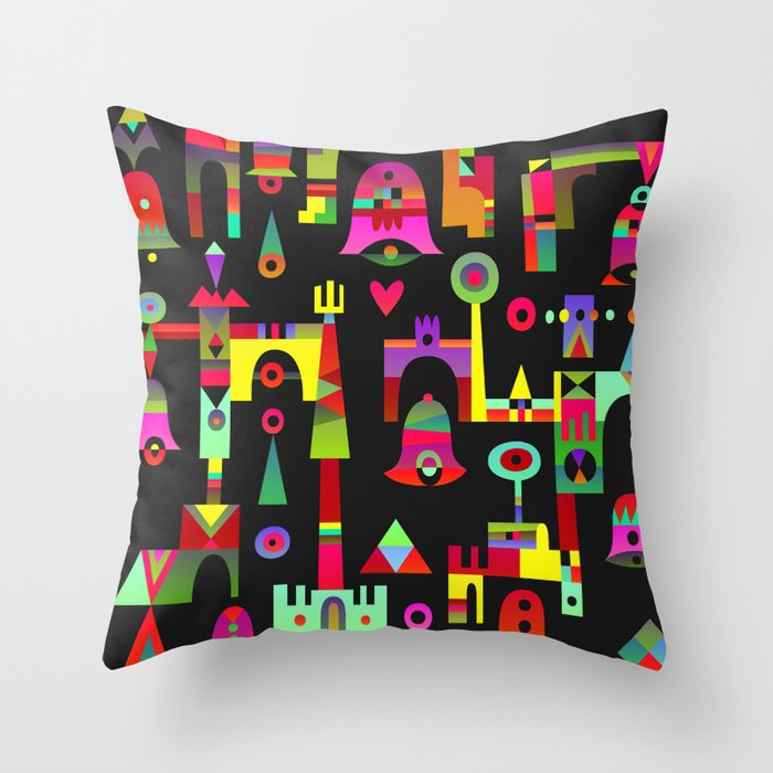 Harmony Chime Throw Pillow