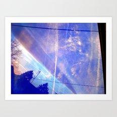 Cloud Study pt4 Art Print
