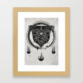 Altar Serpentes Framed Art Print