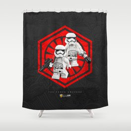 First Order Shower Curtain
