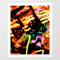 matisse Art Prints featuring Matisse Notes by RIA CURLEY: Limited Edition Digital Art