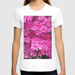 Bumbling Amidst the Azaleas T-shirt