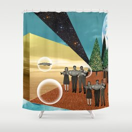 Epidemic Shower Curtain