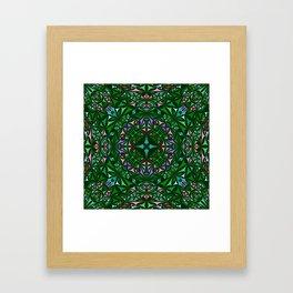 Kaleidoscope 4. Framed Art Print