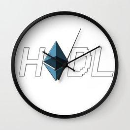 HODL Ethereum Wall Clock