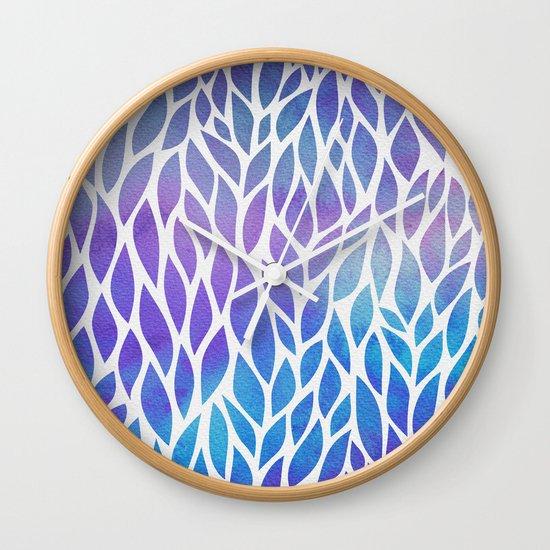 Petals Pattern #1 Wall Clock