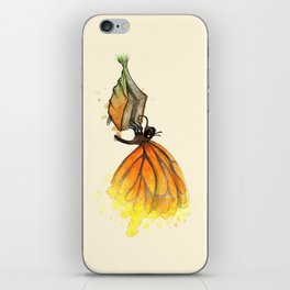 Bookworm Metamorphosis iPhone Skin