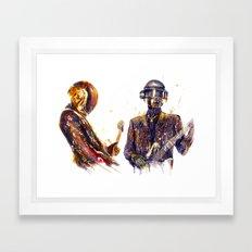 DAFTPUNK III Framed Art Print