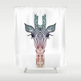 GiRAFFE Shower Curtain