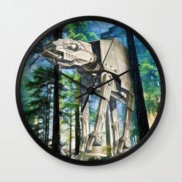 AT-AT Walker on Endor Wall Clock