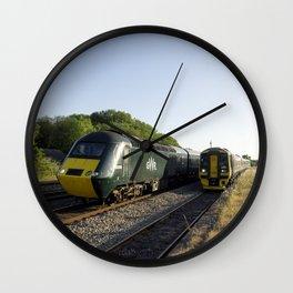Tiverton  Junction speed Wall Clock