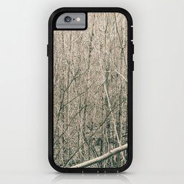 Can't see the Trees for the Wood iPhone Case