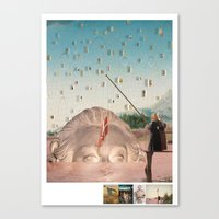 history Canvas Prints featuring history by Jamie Seaboch / EyeQ Innovations