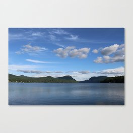 Too Cold For A Swim Canvas Print