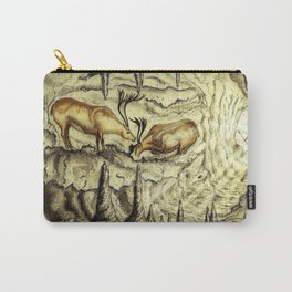 Rock Shelter Reindeer  Carry-All Pouch
