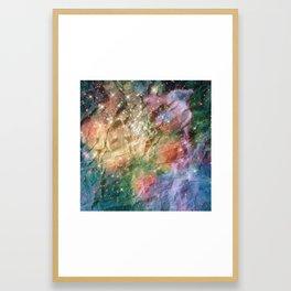 CrumpledGalaxy1.exe Framed Art Print