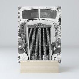 God is Love Vintage Truck, Salvation Mountain Mini Art Print