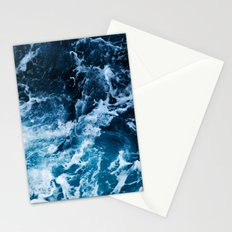 White Waves F Stationery Cards