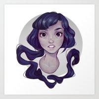 cyarin Art Prints featuring Mono by Cyarin