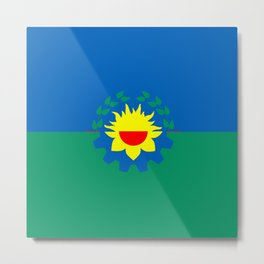 flag of Buenos Aires (Province) Metal Print