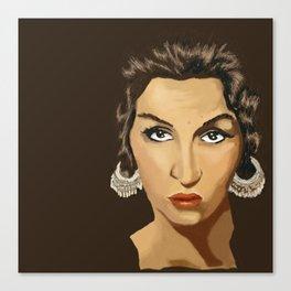 Tita Merello Canvas Print
