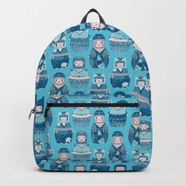 Matrioshkas Pattern Backpack