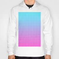 gradient Hoodies featuring Gradient by aesthetically