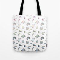 alchemy Tote Bags featuring Alchemy by Heiko Windisch
