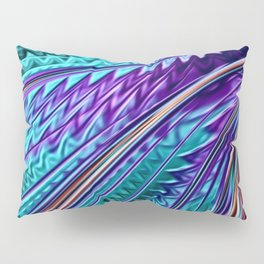 Jewel Rainbow Fractal Art Pillow Sham