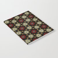 Metallic Deco Little Leaves Notebook