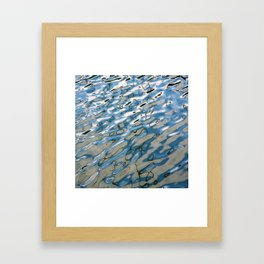 water reflection #1 Framed Art Print