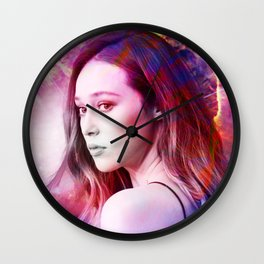 Alycia Debnam-Carey Wall Clock