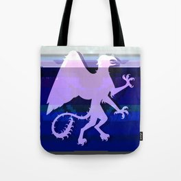 Glitch Griffin Tote Bag