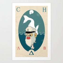 A.C.H.A.B Art Print