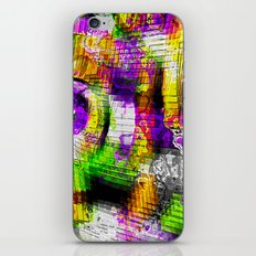Oil Spilling Down A Staircase iPhone & iPod Skin