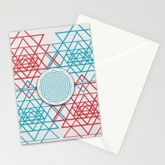 Geometrical 001  Stationery Cards