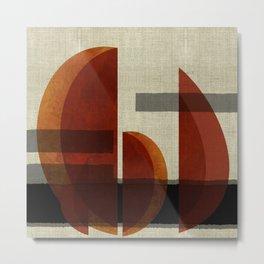 """""""Abstract Ships at Sunset"""" Metal Print"""