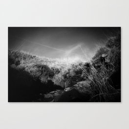 Infrared Valley Canvas Print