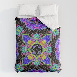 Drawing Floral Doodle G108 Comforters
