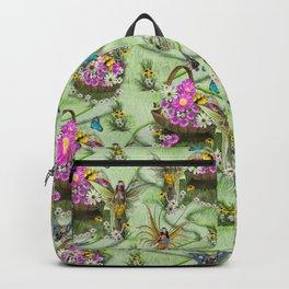 Midsummer Spring Festival Gatherers  Backpack